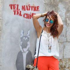 Je reviens sur le blog avec un nouveau look boho chic en partenariat avec @grain_de_malice rendez-vous sur le blog www.jenychooz.com #ootd #blogmode #jenychooz #blogueusemode #blogueusedusud #fashionista #fashionblogger #frenchblogger #boho #boheme #rousse #graffiti #hyeres #var #toulon  #follow #instaphoto #instafashion #followme