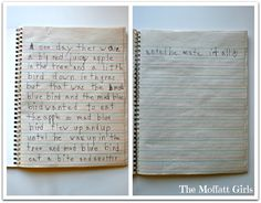 Daily Journal Prompts help kids love to write!