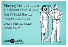 Nursing or nursing assistant humor