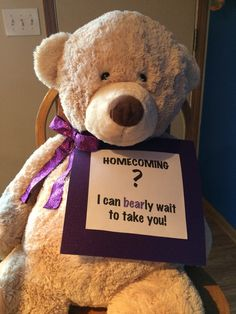 Cute way to ask someone to homecoming