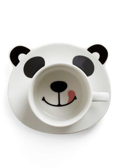 Panda Smile on Your Face Mug Set