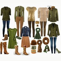 fall family clothing color palette - Google Search