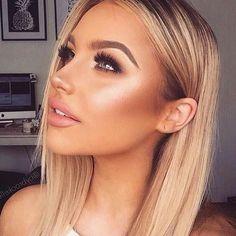 prom makeup – Hair and beauty tips, tricks and tutorials Pageant Makeup, Prom Makeup, Bridal Makeup, Wedding Makeup, Hair Makeup, Makeup Goals, Makeup Tips, Beauty Makeup, Hair Beauty