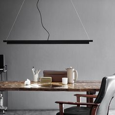 The SpaceB pendant brings elegant minimalism to nordic design. The multi-functional LED lightsource allows the colour temperature to be switched between white and warm white. Nordlux, Lamp, Simple Lamp, Linear Pendant Lighting, Home Ceiling, Ceiling Pendant Lights, Bathroom Ceiling Light, Pendant Light, Adjustable Lighting