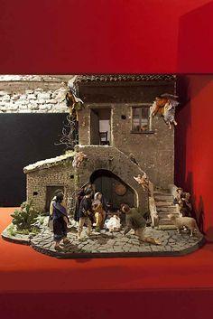 100 Presepi Rewarded Cribs 2012 Puglia, clay, polystyrene, fabric