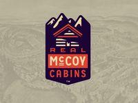 Real Mccoy Cabins Emblem
