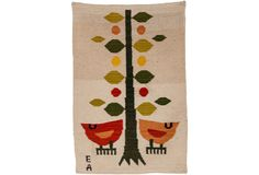 Evelyn Ackerman Spring Birds Tapestry on One Kings Lane today