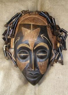 Rasta People African masks - rasta mask 10