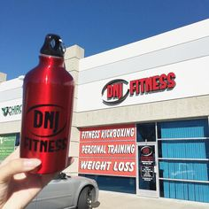 Stopped by to visit one of our coolest clients @dnjfitness today  So many exciting things for them in the future & we're so honored to work with them. Check them out for kick-butt kickboxing classes and personal training in Chino! Thank you for the awesome water bottle...you guys are KILLIN' it