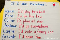 President's Day Activities for Preschool, Pre-K