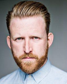 Tom Goodman-Hill, British Actor. Both his hair and beard.