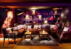 Pentahotel Brussels, Secret Escapes. I would sit down here with a big latte and a big stack of books...
