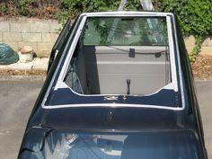 Volkswagen Transporter T4, Ford Transit Camper, Diy Camper, Amazing Spaces, Campervan, Van Life, Canopy, Pose, Truck