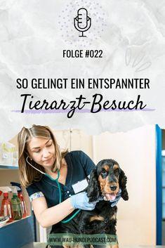 Hallo und herzlich Willkommen bei WAU – dem österreichischen Hunde-Podcast. Wir sind Laura und Kerstin und in der heutigen Podcast-Folge sprechen wir darüber, wie du es schaffst, dass dein Hund gerne zum Tierarzt geht und der Tierarzt-Besuch entspannt abläuft. Hund │Hunde Positive Verstärkung, Tricks, Community, Animal Clinic, Dog Care, Dog Training School, Vet Office, Pooch Workout