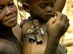 Africa | Lobi children. Burkina Faso | ©Petra Schütz / Detlef Linse