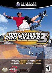 Image result for gamecube tony hawks pro skater 3