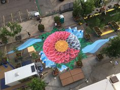 Denver city planners have shut down a portion of 21st Street in downtown to create a pop-up community space—and you won't want to miss it.