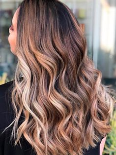 Easy Hairstyles For Long Hair: The Caramel Latte Hair-Color Trend Looks as Delici...