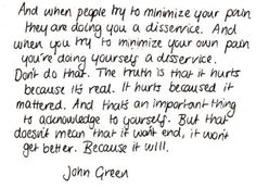 John Green is just perfect