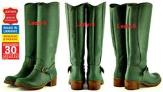 """these great boots are made in Ukraine by TM """"TUTO"""""""
