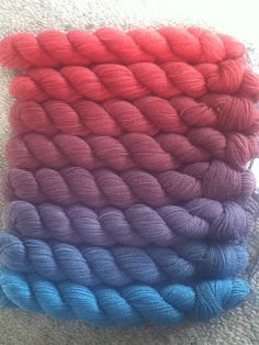 Ravelry: sweetp's ColorShift Color Bridge Yarn