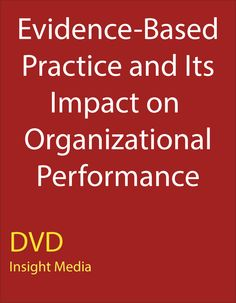Evidence-Based Practice and Its Impact on Organizational Performance: Service providers, from individual clinicians to state agencies, are considering implementing evidence-based practices as their primary means of service delivery. In this module, Dr. Hovmand looks beyond the decision to implement evidence-based practices to the impact of that decision on the performance of an organization. He also discusses the mechanisms used to conduct his research.