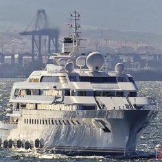 LADY MOURA By @blohmvossyachts | Photo by @superyachts_gibraltar