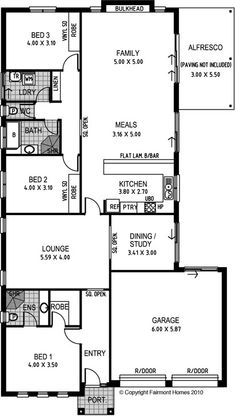 Waverley Is A Great New House Design From Fairmont Homes.