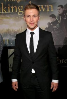 Charlie Bewley (Demetri of the Volturi guard) at BD2 Black Carpet