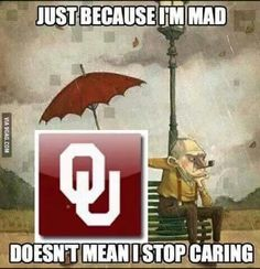 Exactly. #BOOMER SOONER. Via : Sooner til Death