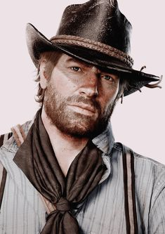 Arthur Morgan - Red Dead Redemption 2 -- Iron J- Red Dead Redemption 1, John Marston, Read Dead, Le Far West, Video Game Characters, Fantasy Characters, Colored Pencils, Handsome, Rdr 2