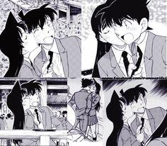 Detective Conan Quotes, Manga Detective Conan, Detective Conan Wallpapers, Ran And Shinichi, Kudo Shinichi, Fleet Of Ships, Kaito Kid, Manga Couple, Magic Kaito