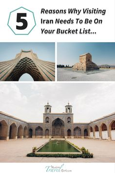 Iranis one of the world's most enigmatic and ancient countries. Be captivated with its historical treasures and natural landmarks. You'll surely fall in love!