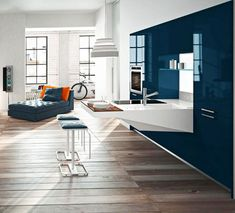 compact kitchen design snaidero board