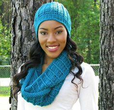 @elkstudio_ Country Appeal Beanie & Cowl Kit #CrochetKit from @beCraftsy via @jessieathome