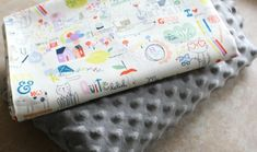 How to Sew the Easiest Baby Blanket Ever