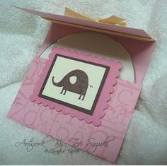big Ideas From A Little Girl: CD holder tutorial
