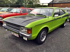 1973 Ford Granada 3.0 GL Coupe.