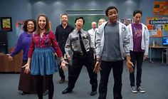 The adorable and hilarious cast of Community.