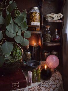 a gorgeous little kitchen altar xo