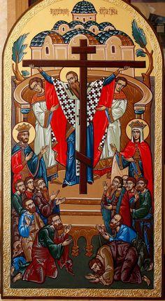 "IC.XC__"" Η Υψωσις του Τιμιου Σταυρου""     _sept 14        ( Elevation of the Cross by Serhei Vandalovskiy"