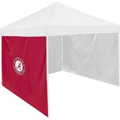 Logo Chair Ncaa Alabama Cardinal Tent Side Panel, Red