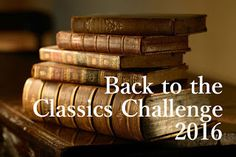 A Great Book Study: Back to the Classics Challenge 2016