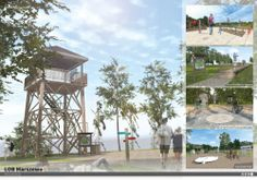 Botanical Garden, Landscape Architecture #botanicalgarden, #landscapearchitecture, #project, #render