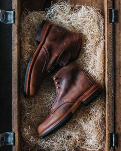 Unbox a lifelong investment #1000mile boot: #1000Mile Evans (Brown) photo: nostalgia_memoir
