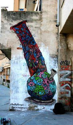 Street art stoners!