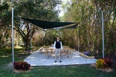 Ricky Rose, 16, designed and led a project to revitalize and repurpose an overgrown space on Grandview's campus.