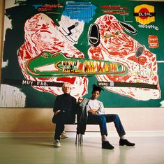 Warhol and Basquiat. Warhol and Basquiat. Warhol and Basquiat! Jm Basquiat, Jean Michel Basquiat Art, Basquiat Artist, Basquiat Paintings, Art Brut, Arte Pop, Pablo Picasso, Art Plastique, Famous Artists
