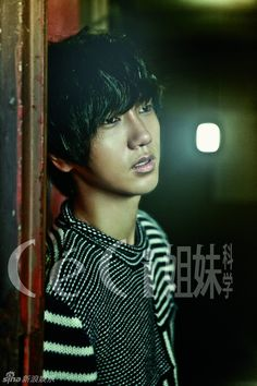 Yesung from Super Junior for Ceci Magazine