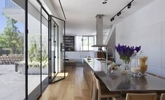House in Ramat Hasharon by Levy:Chamizer Architects via Contemporist
